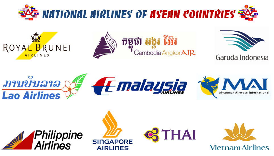 National Carriers of ASEAN Countries ~ ASEAN Section